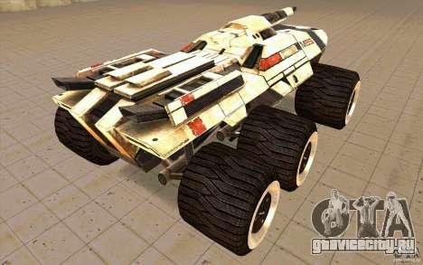 M35 Mako для GTA San Andreas вид сзади слева