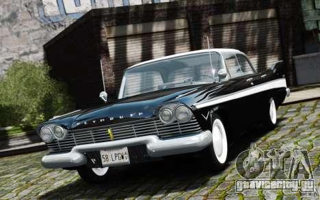 Plymouth Belvedere Sport Sedan 1957 для GTA 4
