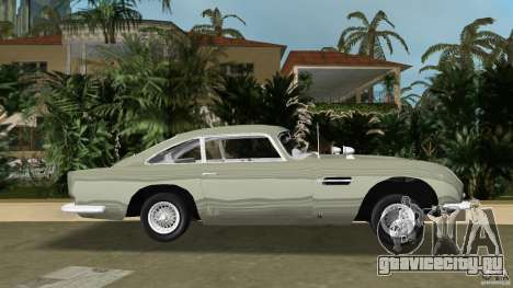 Aston Martin DB5 63-54 (JAMES BOND) для GTA Vice City вид слева