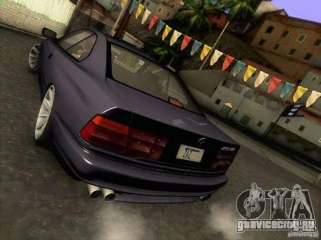 BMW 850 CSI для GTA San Andreas вид сверху