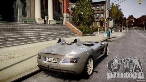 Mercedes-Benz SLR McLaren Stirling Moss [EPM] для GTA 4 вид сверху