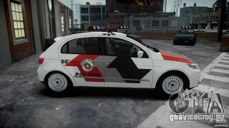 Volkswagen Gol G5 PMSP [ELS] для GTA 4 вид изнутри