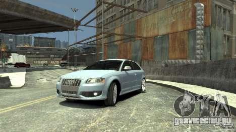 Audi S3 2009 для GTA 4