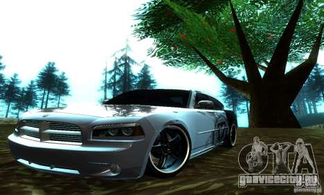 Dodge Charger SRT8 Mopar для GTA San Andreas