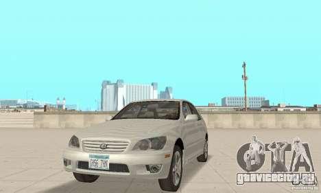 Lexus IS300 Stock для GTA San Andreas