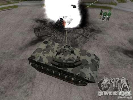 2С25 Спрут-СД для GTA San Andreas вид сзади