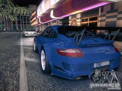 Porsche 997 GT3 RSR для GTA San Andreas вид слева