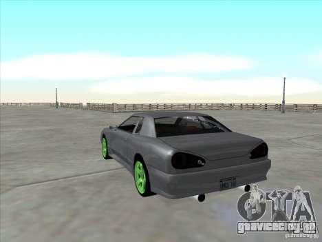 Elegy Full VT v1.2 для GTA San Andreas вид сзади