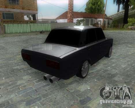 VAZ 2107 Drift Enablet Editional i3 для GTA San Andreas вид слева