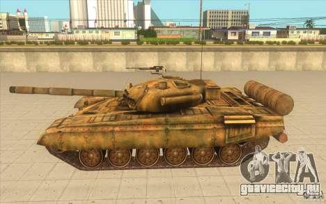 Танк Т-72 для GTA San Andreas вид слева