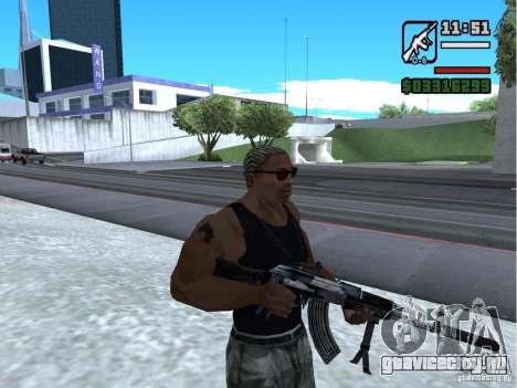 AK-103 из WARFACE для GTA San Andreas второй скриншот
