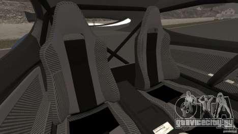Alfa Romeo 8C Competizione Body Kit 1 для GTA 4 вид изнутри