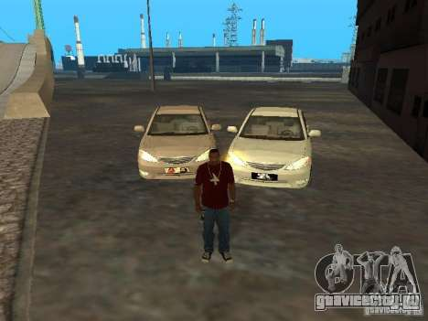 Toyota Camry 2003 для GTA San Andreas вид сзади