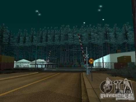 Лес в Las Venturas для GTA San Andreas третий скриншот