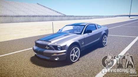 Shelby GT500kr для GTA 4 вид слева