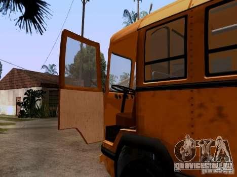 ЛиАЗ 158 для GTA San Andreas вид сзади