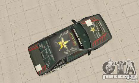 Toyota AE86wrt Rockstar для GTA San Andreas вид справа