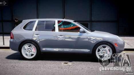 Porsche Cayenne 955 Turbo v1.0 для GTA 4 вид сбоку