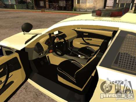 Bmw 135i coupe Police для GTA San Andreas вид сзади слева
