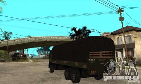 DFT-30 Brazilian Army для GTA San Andreas вид сзади слева