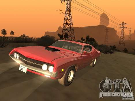 Ford Torino Cobra 1970 Tunable для GTA San Andreas