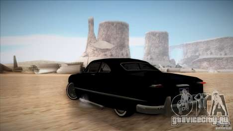 Ford Coupe Custom 1949 для GTA San Andreas вид справа