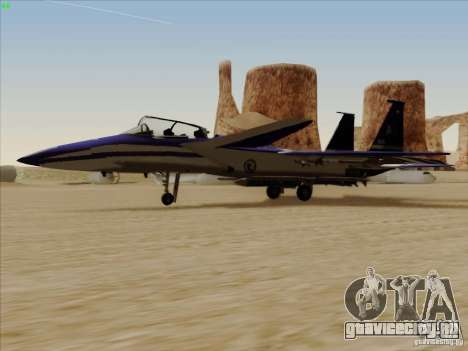 F-15 SMTD для GTA San Andreas вид слева