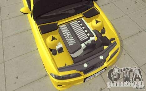 BMW M5 E39 - FnF4 для GTA San Andreas вид снизу