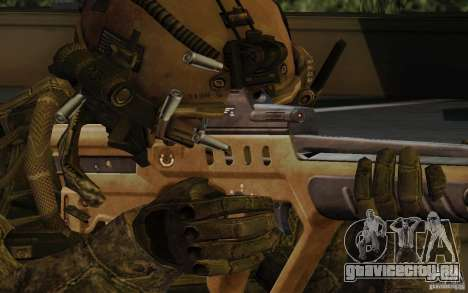Tavor Tar-21 Desert для GTA San Andreas третий скриншот