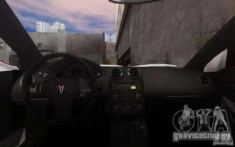 Pontiac G6 для GTA 4 вид снизу