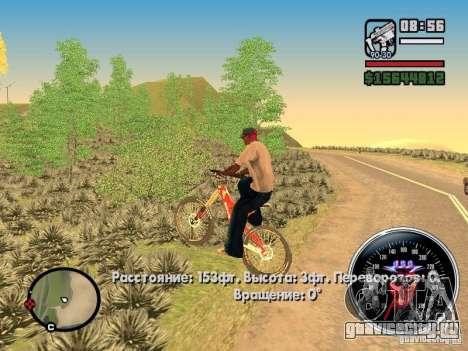 Speed Udo для GTA San Andreas