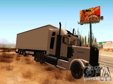 Western Star 4900 для GTA San Andreas вид слева