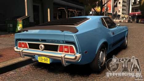 Ford Mustang Mach 1 1973 v2 для GTA 4