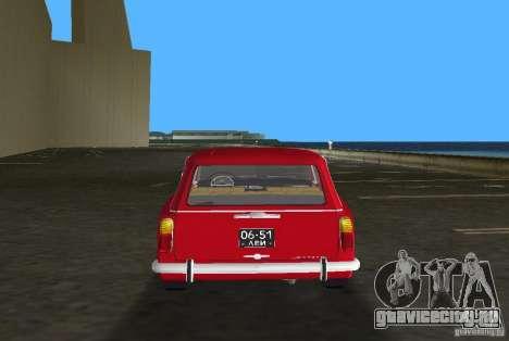 ВАЗ 2102 для GTA Vice City вид изнутри