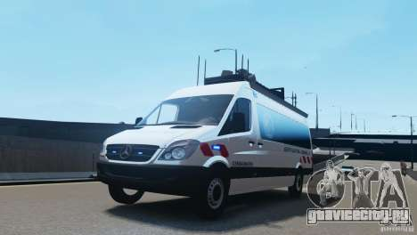 Mercedes-Benz Sprinter-Identification Criminelle для GTA 4