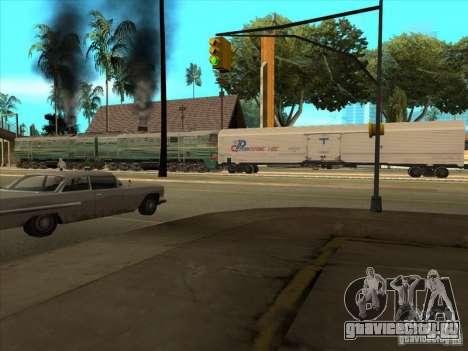 2ТЭ10В-3594 для GTA San Andreas вид сзади
