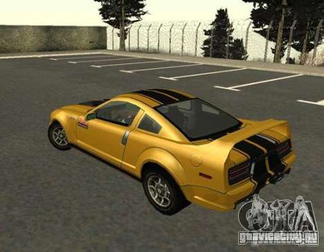 Road King from FlatOut 2 для GTA San Andreas вид слева