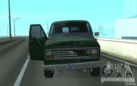 Ford E-150 Short Version v3 для GTA San Andreas