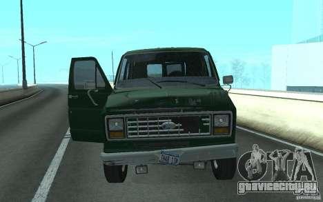 Ford E-150 Short Version v3 для GTA San Andreas