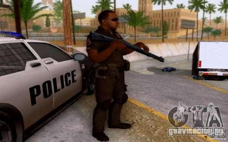 Полицейский из CoD: BO2 для GTA San Andreas второй скриншот