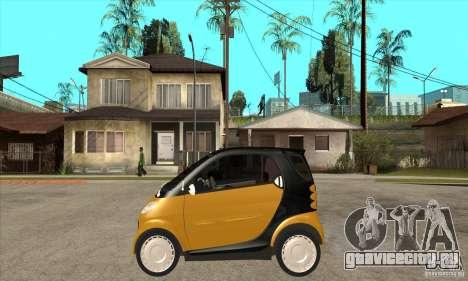 Smart для GTA San Andreas вид слева