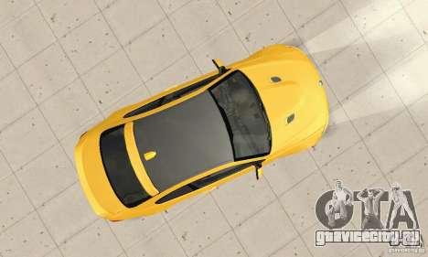 BMW M3 2008 Hamann v1.2 для GTA San Andreas вид изнутри