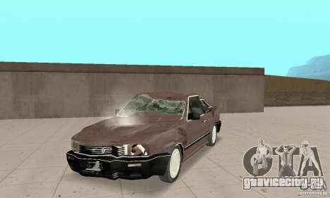 Volkswagen Santana GLS 1989 для GTA San Andreas вид слева
