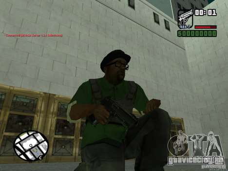 Black Weapon by ForT для GTA San Andreas