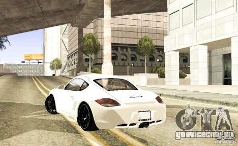 Porsche Cayman R для GTA San Andreas вид справа