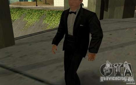 Агент 007 для GTA San Andreas второй скриншот