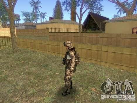 Blackburn из BF3 для GTA San Andreas третий скриншот