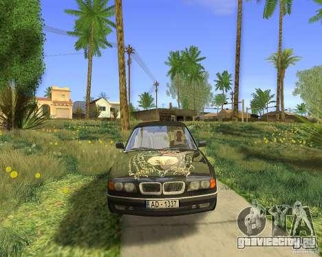 BMW 730i E38 1996 для GTA San Andreas вид справа