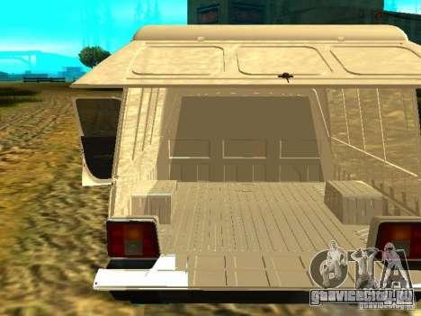 ИЖ 2717 для GTA San Andreas вид сбоку