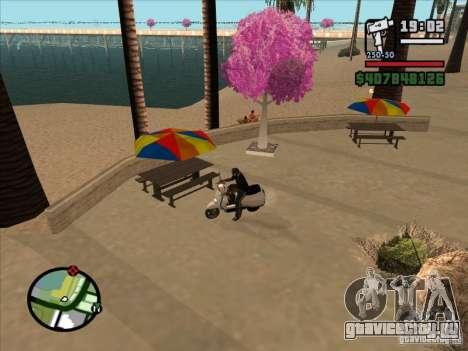 Небольшие мелочи для GTA San Andreas второй скриншот